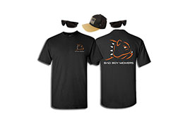 Bad Boy Apperal, T-shirts, Hats, Glasses, Stickers, Tatto, Coozie